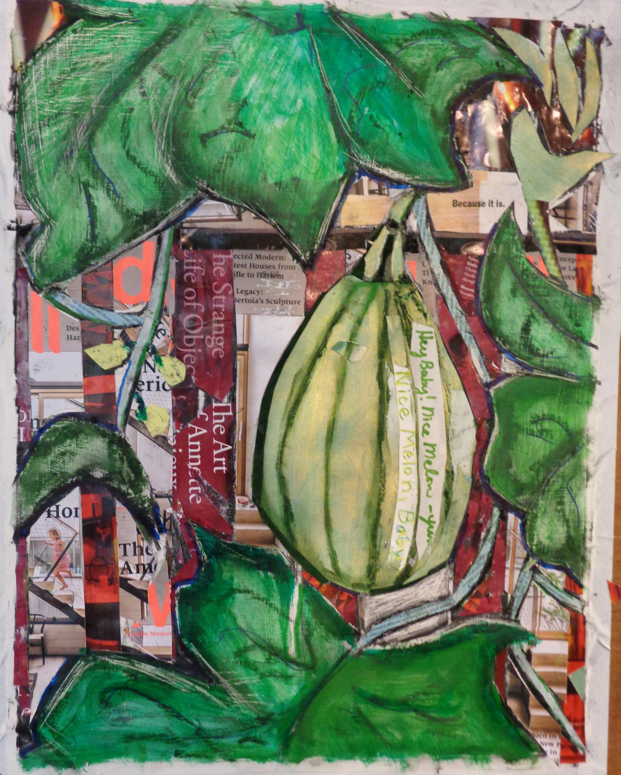 1 July Nice Melon Baby in progress.jpg