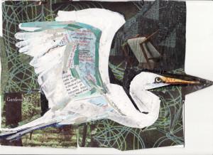 26 JUNE White Crane